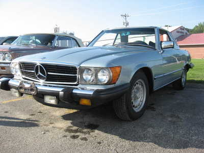 1978 Mercedes-Benz SL-Class, $11995. Photo 2