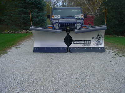2016 Other Snow Plow, $5100. Photo a